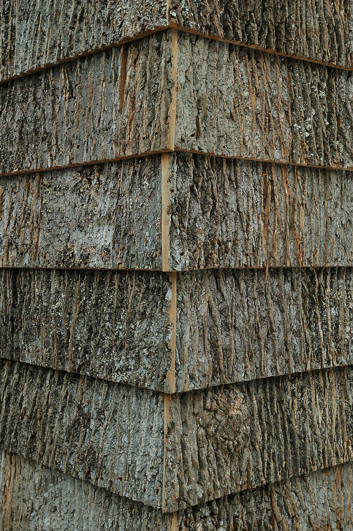 High End Poplar Bark Shingles Bark House