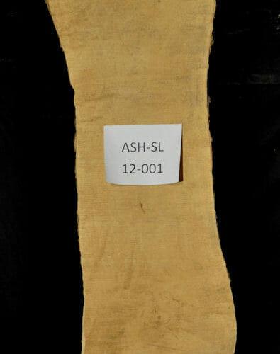 Ash live edge wood slab for sale for desks, tables, designer wall treatments, other. Item #ASH-SL-12-001
