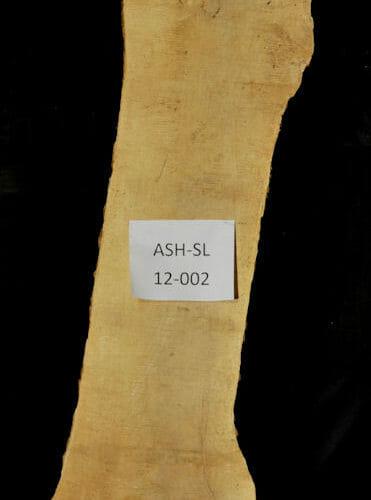 Ash live edge wood slab for sale for desks, tables, designer wall treatments, other. Item #ASH-SL-12-002
