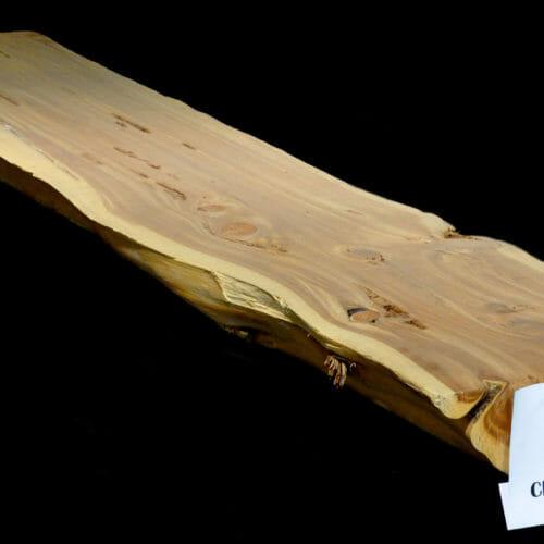 Cedar live edge slab mantle for sale at Bark House #CEDR-MAN-12-0012