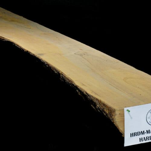 Live edge wood slab maple mantle for sale at Bark House #HRDM-MAN-12-003