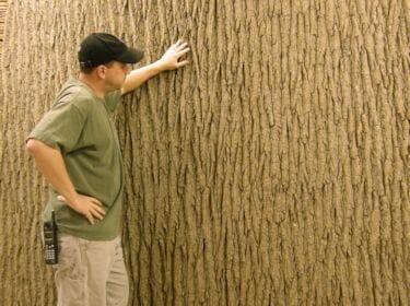 Bark House Brand Poplar Panels can be huge