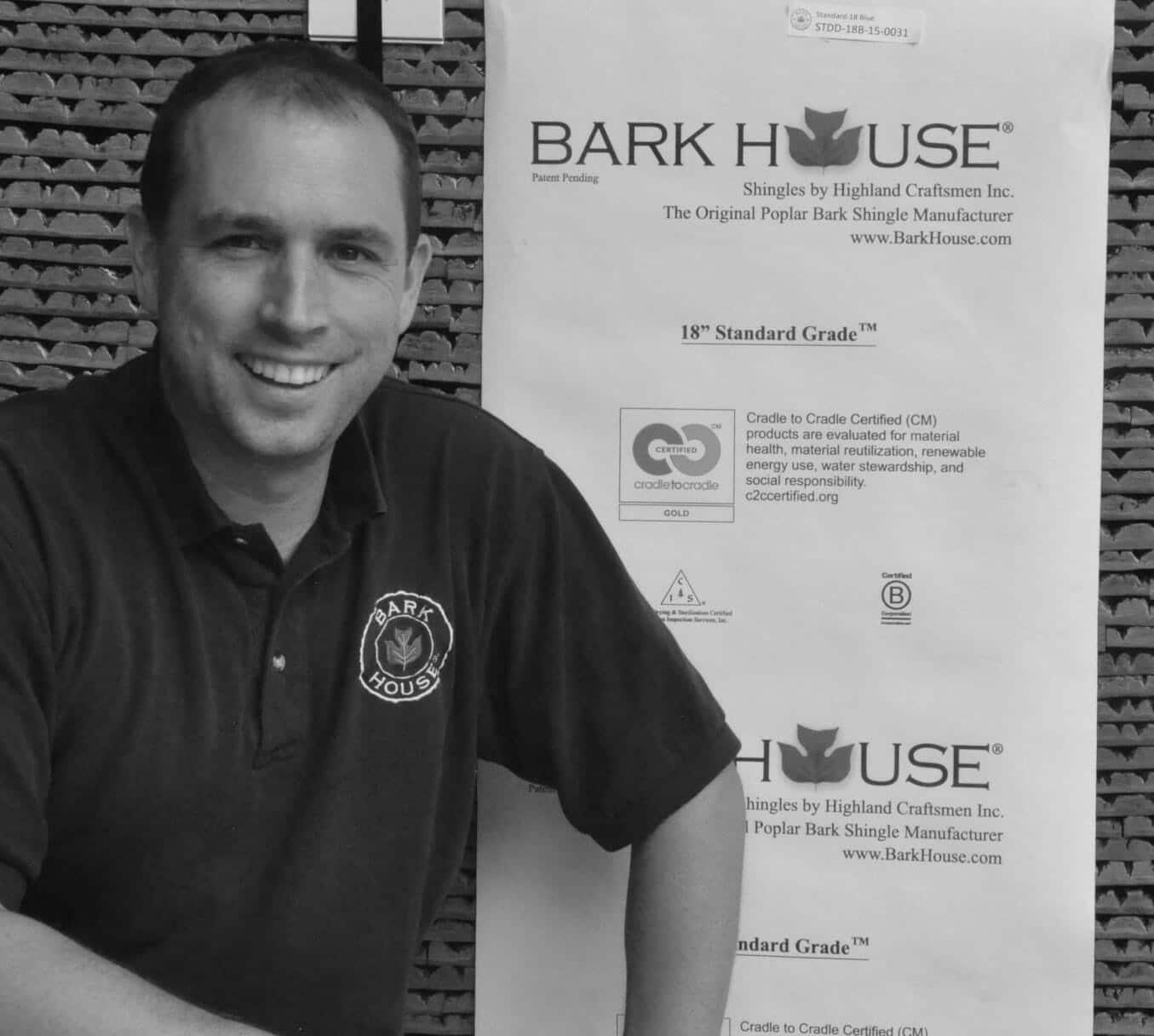 Bark House shingle siding expert crew team member(s): Ryan