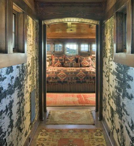Authentic White Birch bark decorative interior wall paneling