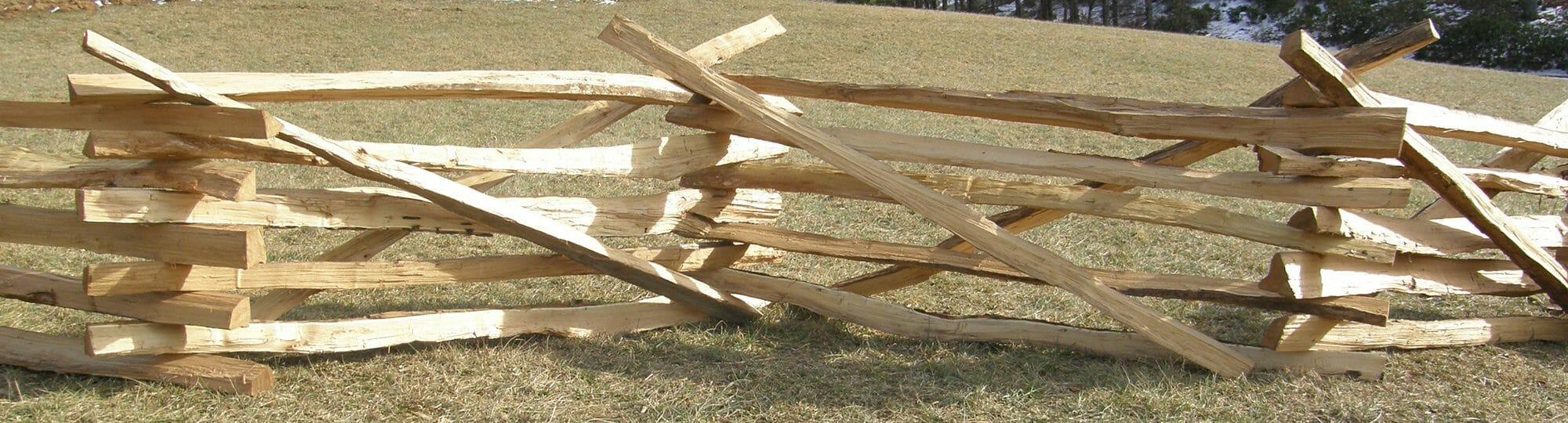 Authentic Split Rail Fence Posts and Rails | Bark House
