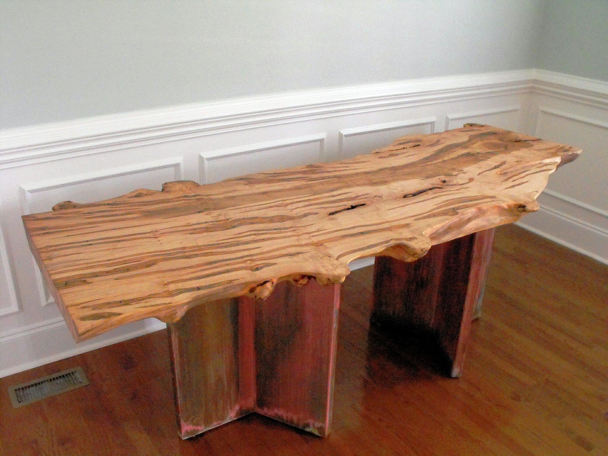 Live edge slabs archives bark house for Live edge wood slabs new york