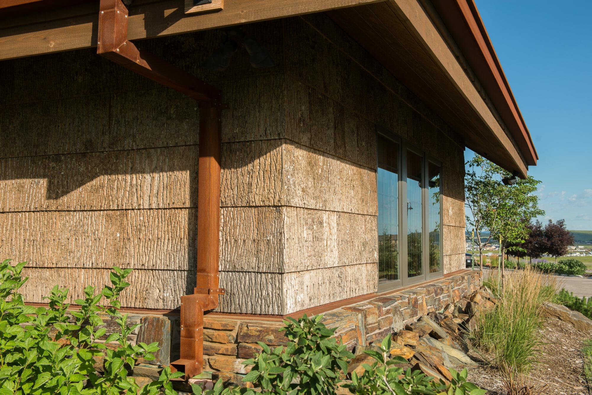 Natural Wood Siding Gallery Custom Wood Fabrication