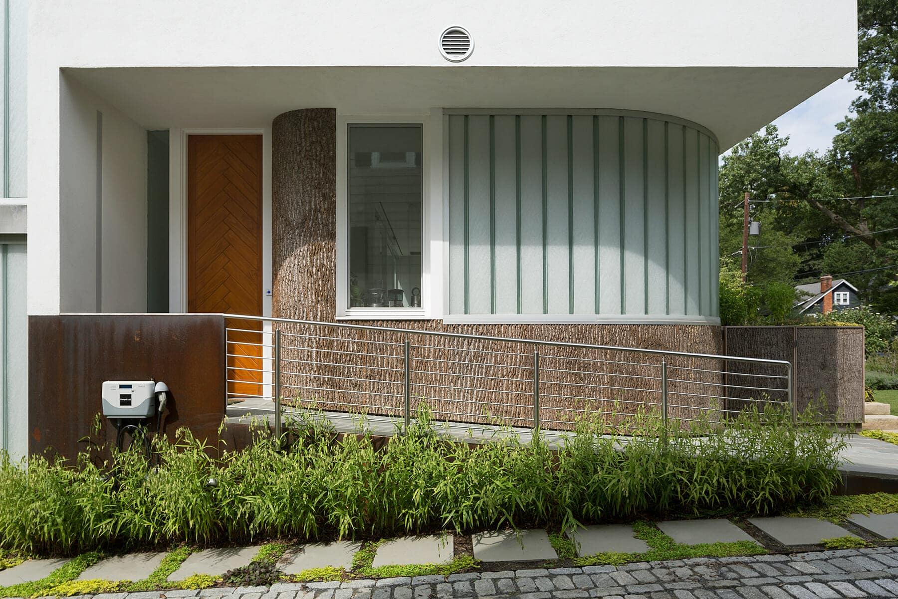 Bark House Bark Panels - Meditch Murphey Architects