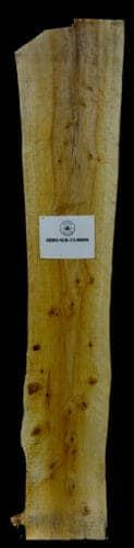 Arborvitae live edge wood slab for sale for desks, tables, designer wall treatments, other. Item #ARBO-SLR-15-0006