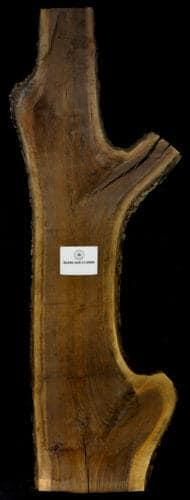 Black Walnut live edge wood slab for sale for desks, tables, designer wall treatments, other. Item #BKWL-SLR-15-0006