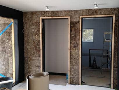 Poplar Bark shakes for inside and outside