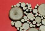 Poplar End Cuts in heart shape