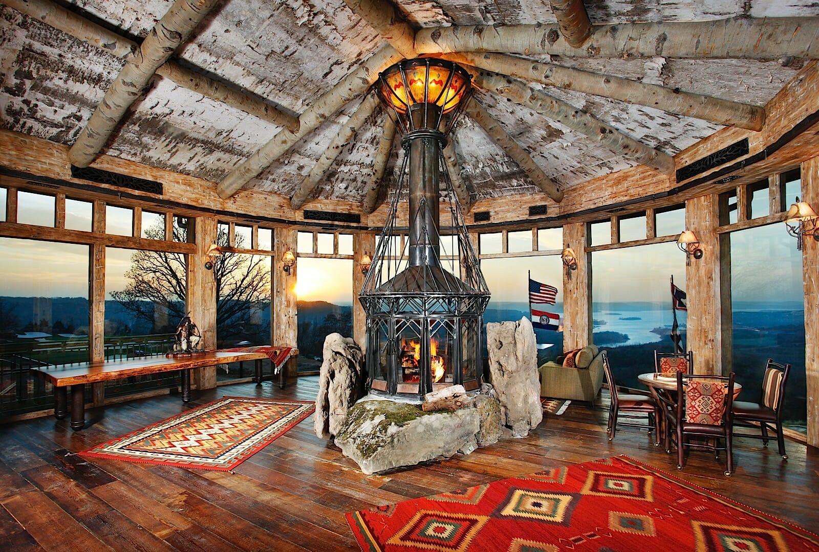 Romantic Wooden Architecture Romantic Getaway Spots