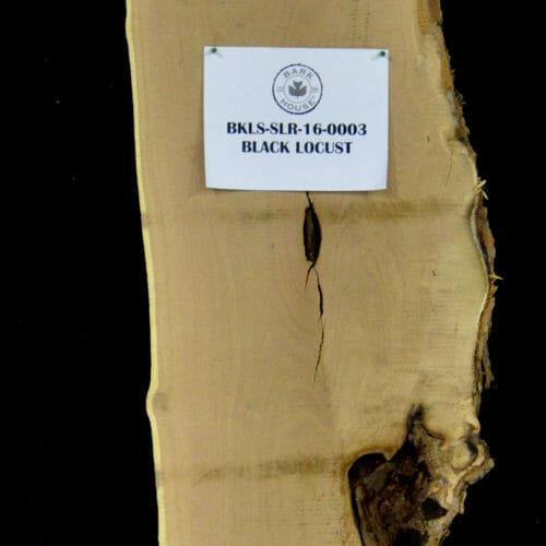 Bark House Black Locust Live Edge Wood Slab for Sale BKLS-SLR-16-0003