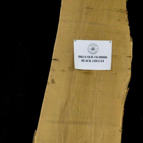 Bark House Black locust live edge wood slabs for sale #BKLS-SLR-16-0006