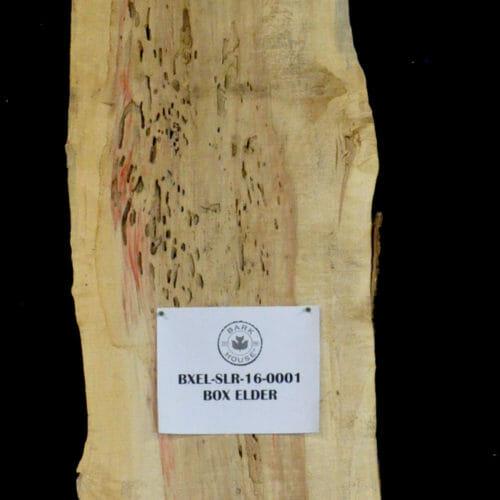 Box Elder Live Edge Slab for sale at the Bark House #BXEL-SLR-16-0001