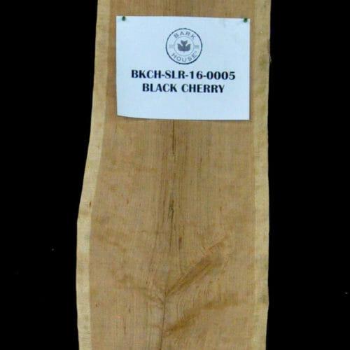 Bark House Black Cherry Live Edge Wood Slab for sale #BKCH-SLR-16-0005