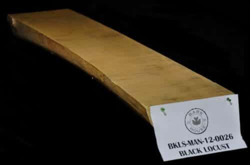 Black locust live edge wood slab mantle for sale at the Bark House #BKLS-MAN-12-0026