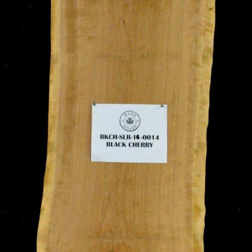 Bark House Black Cherry Live Edge Wood Slab for Sale BKCH-SLR-16-0014