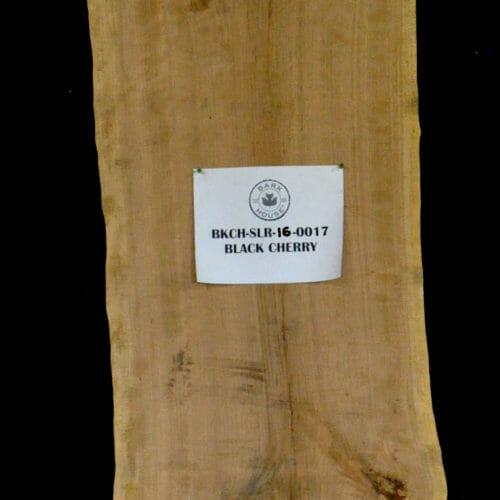Bark House Black Cherry Live Edge Wood Slab for Sale BKCH-SLR-16-0017