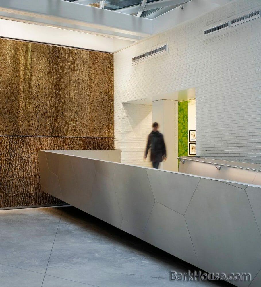 People's Dreams Collaboration in Design: Bark House poplar bark wall panels