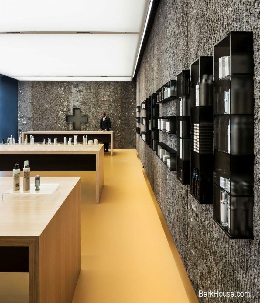 Textured wall treatments: Natural Poplar Bark Wall Panels