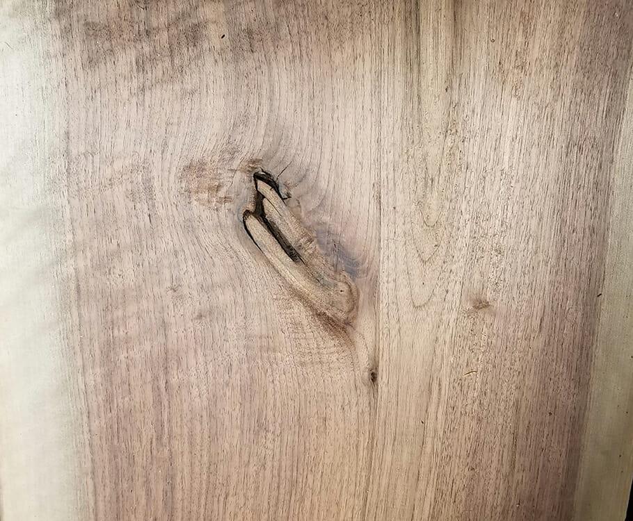 Bark house live edge wood slabs for sale knots sample for Live edge wood slabs new york