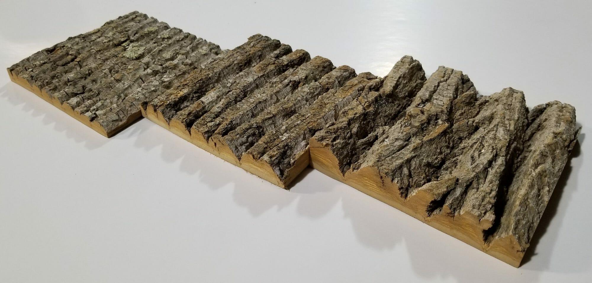 Poplar Bark Panels Poplar Wood Wall Covering Panels