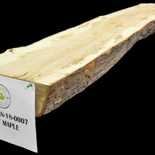 Buy live edge slabs and mantels from Bark House Maple SFTM-MAN-18-0007
