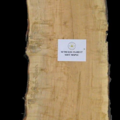 Buy live edge slabs and mantels from Bark House Maple SFTM-SLR-18-0017