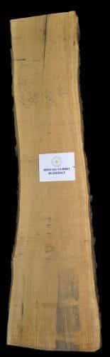 Butternet live edge wood slab for sale at Highland Craftsmen Bark House BRNT-SLI-18-0001