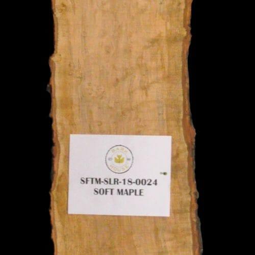 Buy Live Edge Wood slabs from Bark House at Highland Craftsmen. Maple 18-0024