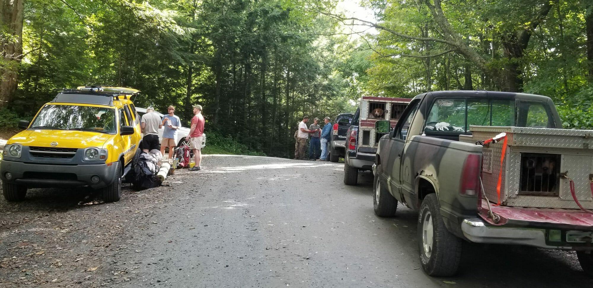 What Chris McCurry, Bark House, sees at Appalachian Trailhead