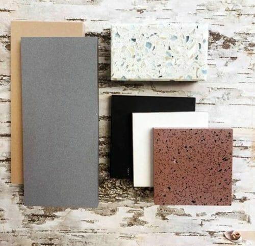 Bark House White Birch Laminate featured on CaraGreen January 2019 Vignette