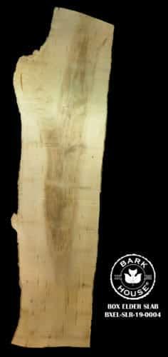 For Sale: Bark House live edge slabs and mantels. Box Elder-SLR-19-0004