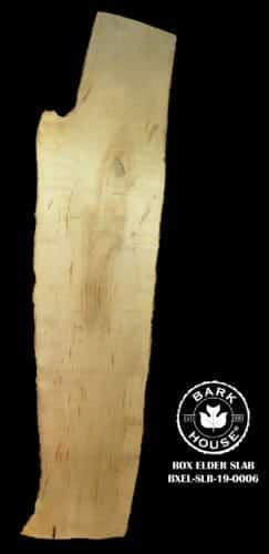 For Sale: Bark House live edge slabs and mantels. Box Elder-SLR-19-0006