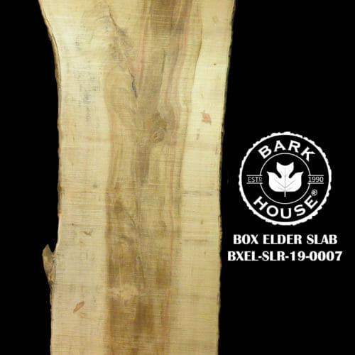 For Sale: Bark House live edge slabs and mantels. Box Elder-SLR-19-0007