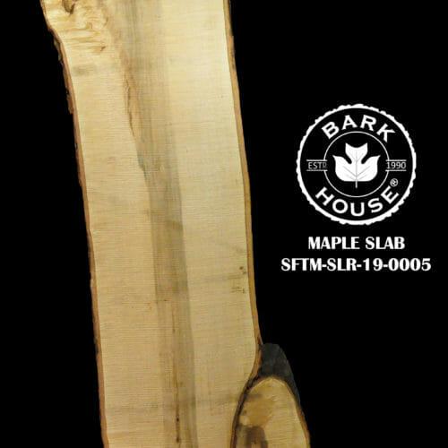 For Sale: Bark House live edge slabs and mantels. Maple SLR-19-0005