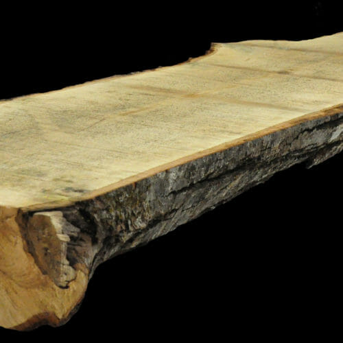 For Sale: Bark House live edge slabs and mantels. Maple MAN-19-0027