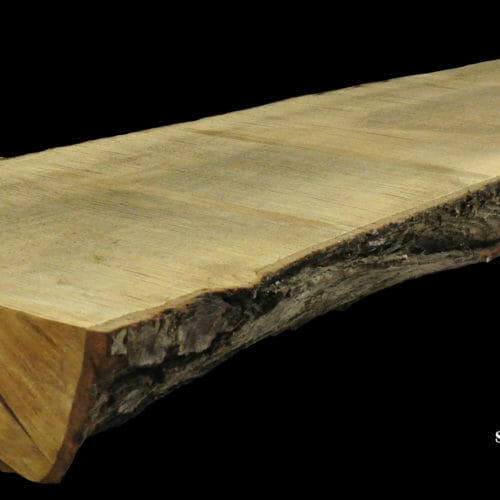 For Sale: Bark House live edge slabs and mantels. Maple MAN-19-0029