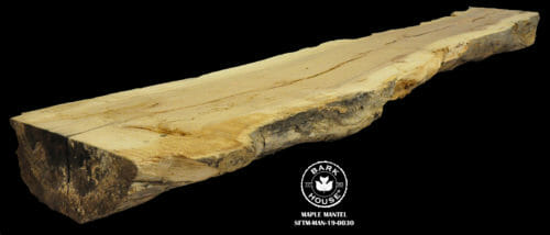 For Sale: Bark House live edge slabs and mantels. Maple MAN-19-0030