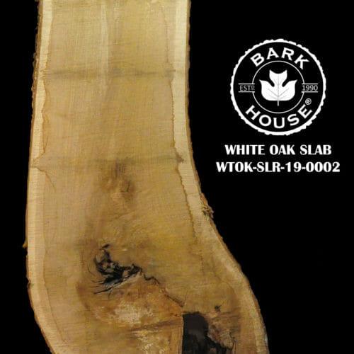 For Sale: Bark House live edge slabs and mantels. White Oak SLR-19-0002