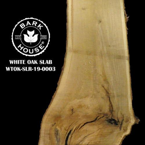 For Sale: Bark House live edge slabs and mantels. White Oak SLR-19-0003