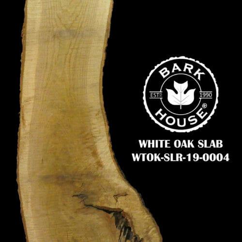 For Sale: Bark House live edge slabs and mantels. White Oak SLR-19-00