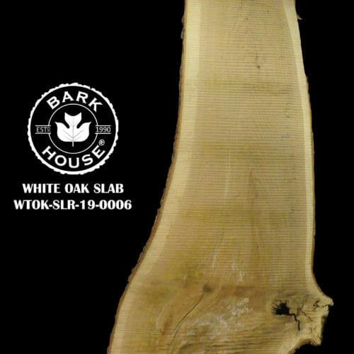 For Sale: Bark House live edge slabs and mantels. White Oak SLR-19-0006