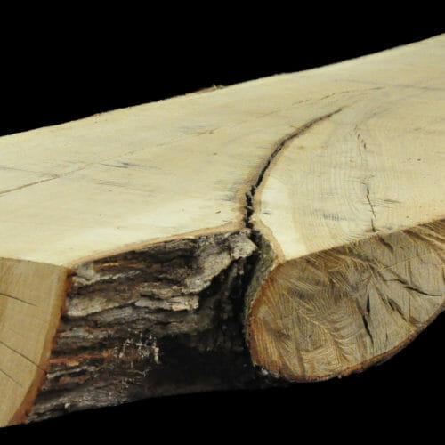 For Sale: Bark House live edge slabs and mantels. White Oak Man-19-0007