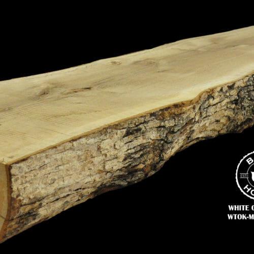 For Sale: Bark House live edge slabs and mantels. White Oak Man-19-0015